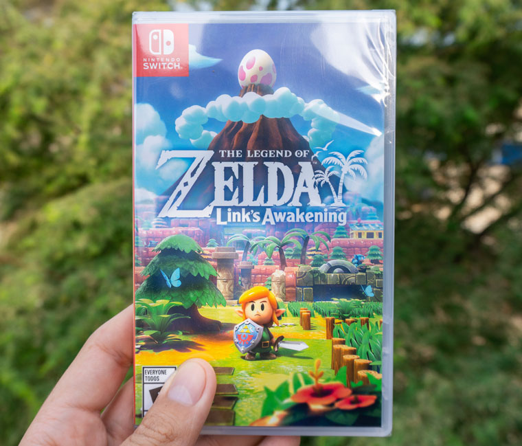 The Legend Of Zelda Links Awakening Unboxing Express