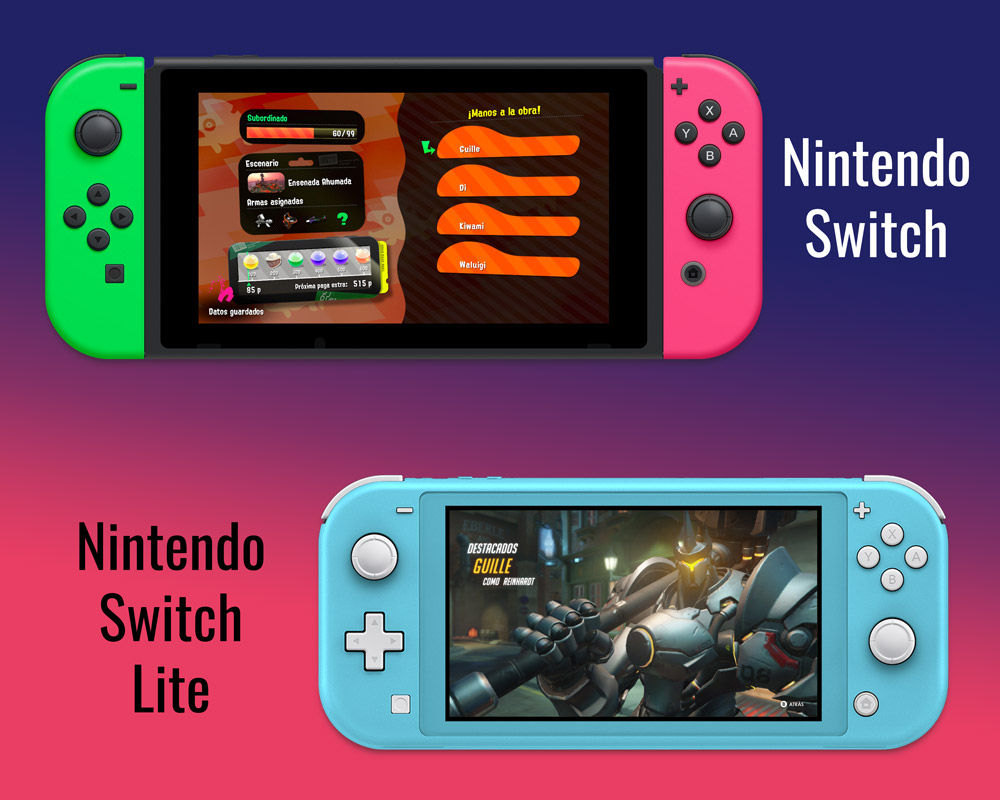¿Nintendo Switch o Switch Lite?
